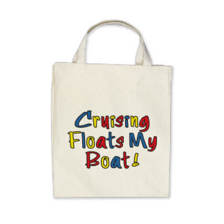Float My Boat Organic Grocery Tote Tote Bags