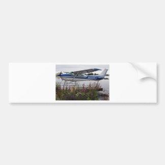 Float plane 10 Lake Hood Anchorage Alaska USA Bumper Stickers
