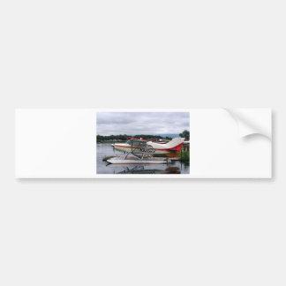 Float plane 12, Lake Hood, Anchorage, Alaska, USA Bumper Sticker