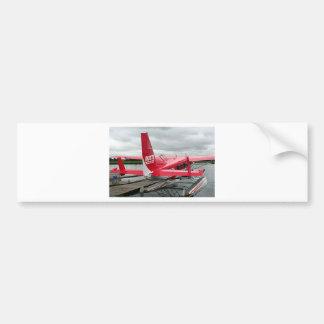 Float plane 13, Lake Hood, Anchorage, Alaska, USA Bumper Sticker