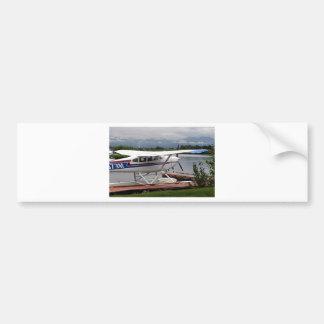 Float plane 15, Lake Hood, Anchorage, Alaska, USA Bumper Sticker