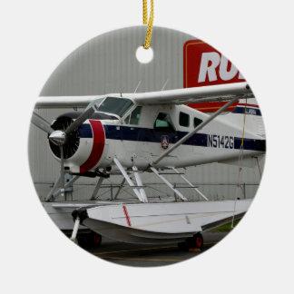Float plane 24, Lake Hood, Alaska Ceramic Ornament