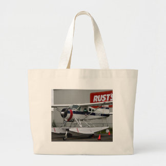 Float plane 24, Lake Hood, Alaska Large Tote Bag
