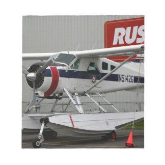 Float plane 24, Lake Hood, Alaska Notepad