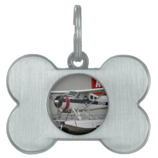 Float plane 24, Lake Hood, Alaska Pet Tag