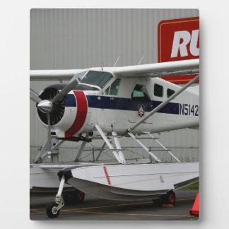 Float plane 24, Lake Hood, Alaska Plaque