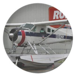 Float plane 24, Lake Hood, Alaska Plate