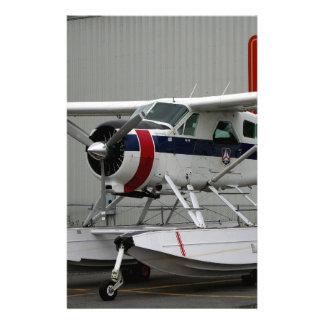 Float plane 24, Lake Hood, Alaska Stationery
