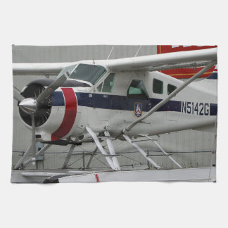 Float plane 24, Lake Hood, Alaska Tea Towel