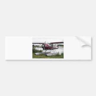 Float plane, Lake Hood, Anchorage, Alaska, USA 16 Bumper Sticker