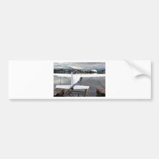 Float plane, Lake Hood, Anchorage, Alaska, USA 17 Bumper Sticker
