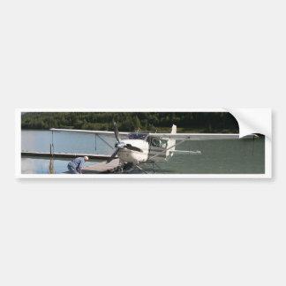 Float plane, Trail Lake, Alaska 2 Bumper Sticker