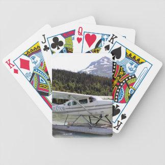 Float plane, Trail Lake, Alaska 3 Bicycle Playing Cards