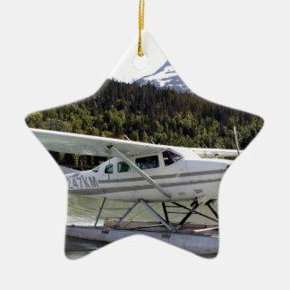 Float plane, Trail Lake, Alaska 3 Ceramic Ornament