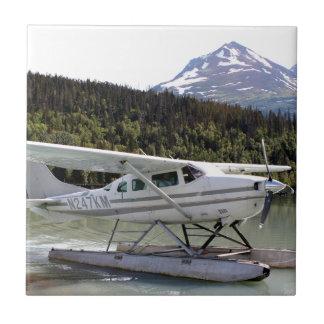Float plane, Trail Lake, Alaska 3 Ceramic Tile