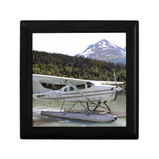 Float plane, Trail Lake, Alaska 3 Gift Box