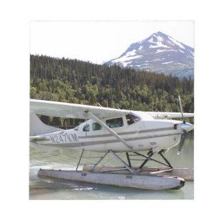 Float plane, Trail Lake, Alaska 3 Notepad