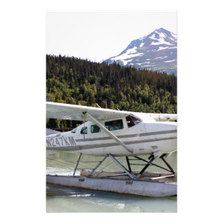 Float plane, Trail Lake, Alaska 3 Stationery