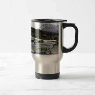 Float plane, Trail Lake, Alaska 3 Travel Mug