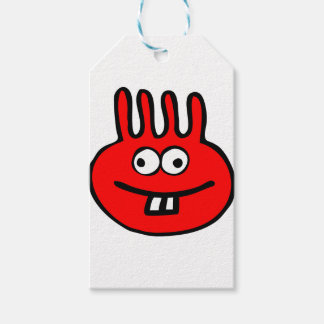 Floatie Monster red Gift Tags