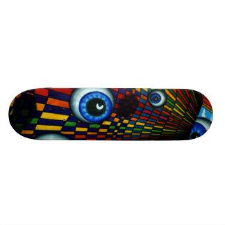 Floating About Skateboard Deck Design CricketDiane