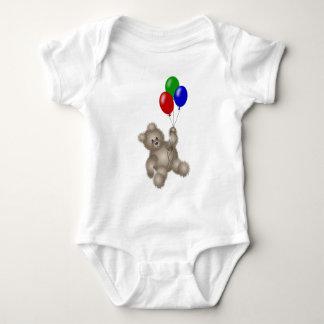 Floating Bear - TBA Baby Bodysuit