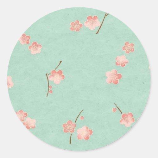 Floating Blossoms on Aqua