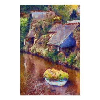 Floating Brittany Garden Photo Print