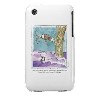 FLOATING BY cartoon by Ellen Elliott iPhone 3 Case