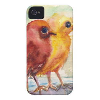 Floating Chicks iPhone 4 Case-Mate Case