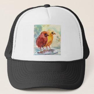 Floating Chicks Trucker Hat