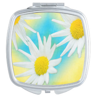 Floating Daisies Makeup Mirror