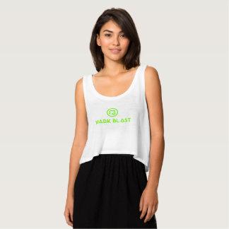 floating docker white green traditional logo singlet