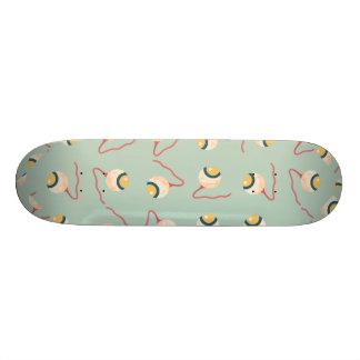 Floating Eyeballs 20.6 Cm Skateboard Deck