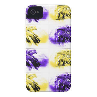 Floating Flowers iPhone 4 Case-Mate Cases