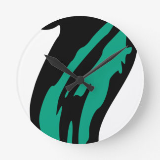 Floating Ghost Round Clock