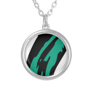 Floating Ghost Silver Plated Necklace