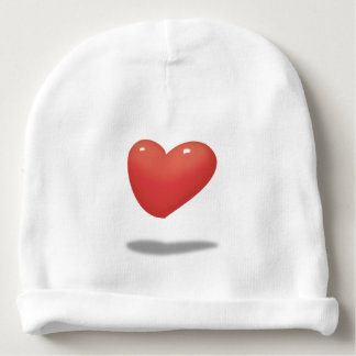 Floating Heart, Heart Balloon Baby Beanie