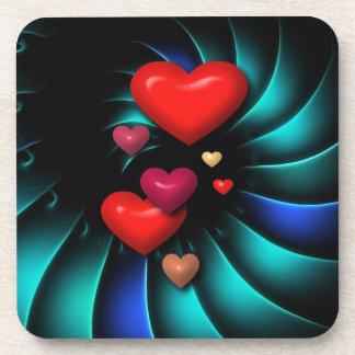 Floating Hearts Coaster