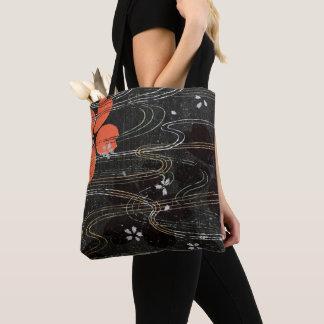 Floating Hibiscus Petals Tote Bag