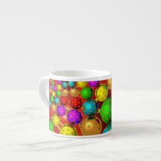 Floating Holiday Ornaments Espresso Mug