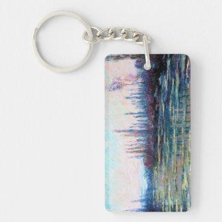 Floating Ice, 1882 Claude Monet Key Ring