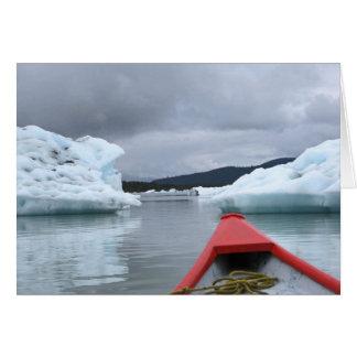 Floating Icebergs Card