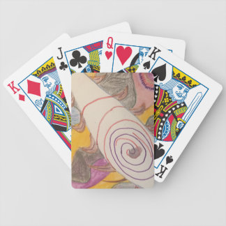 Floating in The Rainbow Void Bicycle Playing Cards