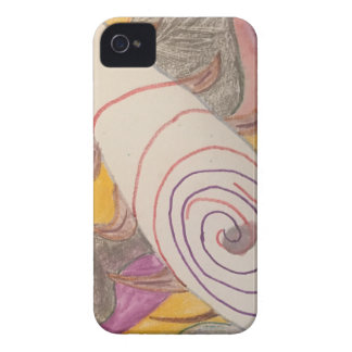 Floating in The Rainbow Void iPhone 4 Cover