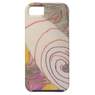 Floating in The Rainbow Void iPhone 5 Covers