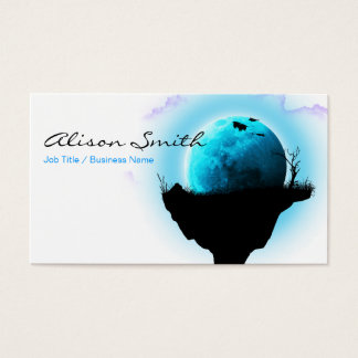 Floating island business card