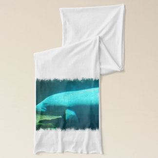 Floating Manatees Scarf