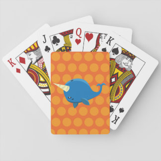 Floating Narwhal - Playing Cards