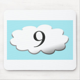 Floating on cloud nine mouse pad
